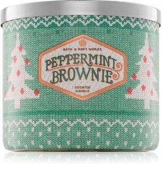 Bath & Body Works Peppermint Brownie aроматична свічка