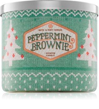 Bath & Body Works Peppermint Brownie bougie parfumée