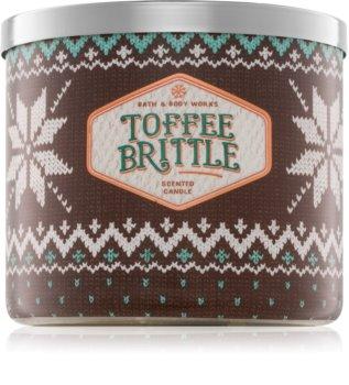 Bath & Body Works Toffee Brittle illatos gyertya