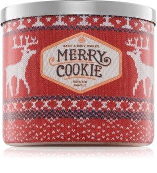 Bath & Body Works Merry Cookie vela perfumada