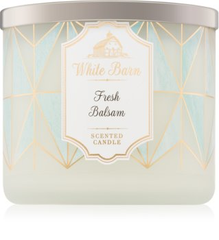Bath & Body Works Fresh Balsam bougie parfumée II.