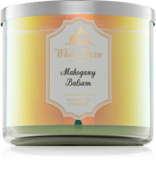 Bath & Body Works Mahogany Balsam scented candle I.