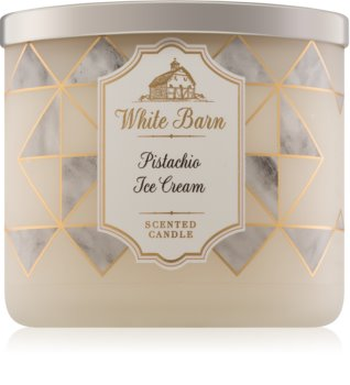 Bath & Body Works Pistachio Ice Cream scented candle