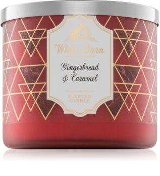 Bath & Body Works Gingerbread & Caramel bougie parfumée