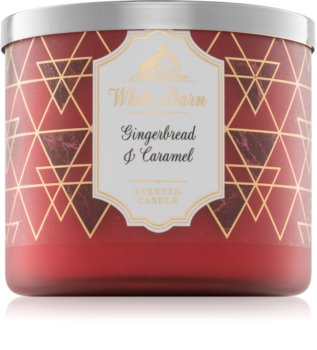 Bath & Body Works Gingerbread & Caramel illatos gyertya