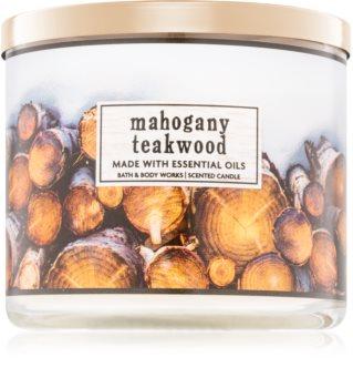 Bath & Body Works Mahogany Teakwood dišeča sveča  I.
