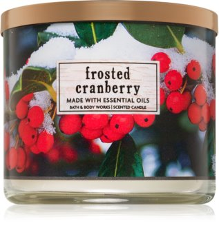 Bath & Body Works Frosted Cranberry vonná svíčka I.