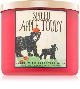 Bath & Body Works Spiced Apple Toddy vonná svíčka I.