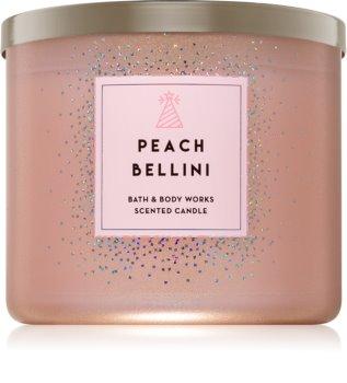 Bath & Body Works Peach Bellini illatos gyertya