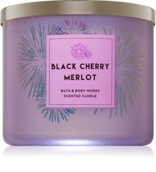 Bath & Body Works Black Cherry Merlot vonná svíčka