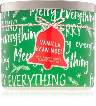 Bath & Body Works Vanilla Bean Noel scented candle I.