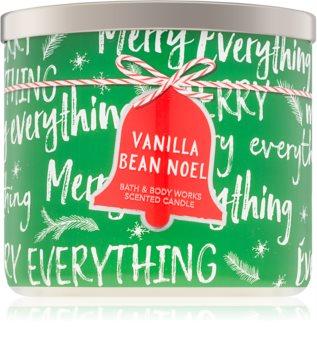 Bath & Body Works Vanilla Bean Noel vela perfumada I.