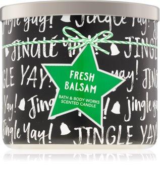 Bath & Body Works Fresh Balsam illatos gyertya  IV.