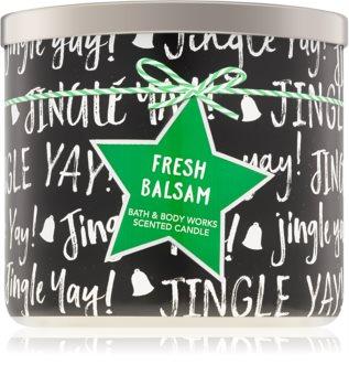 Bath & Body Works Fresh Balsam mirisna svijeća IV.