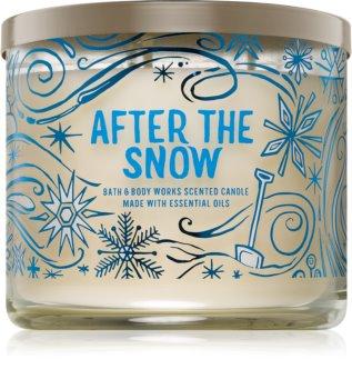 Bath & Body Works After The Snow illatos gyertya