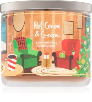 Bath & Body Works Hot Cocoa & Cream vonná svíčka V.