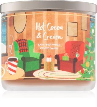 Bath & Body Works Hot Cocoa & Cream vonná sviečka V.