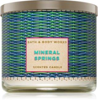 Bath & Body Works Mineral Springs illatos gyertya