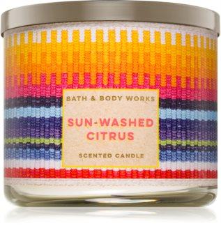 Bath & Body Works Sun-Washed Citrus candela profumata