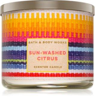 Bath & Body Works Sun-Washed Citrus illatos gyertya
