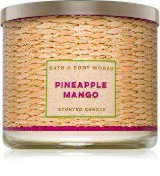 Bath & Body Works Pineapple Mango illatos gyertya