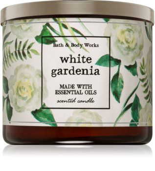 Bath & Body Works White Gardenia illatos gyertya