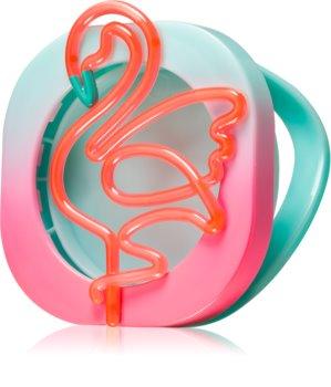 Bath & Body Works Neon Flamingo autóillatosító tartó akasztó