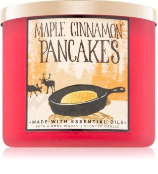 Bath & Body Works Maple Cinnamon Pancakes αρωματικό κερί
