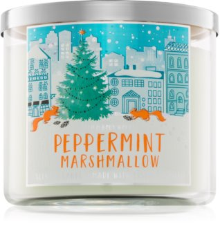 Bath & Body Works Peppermint Marshmallow illatos gyertya