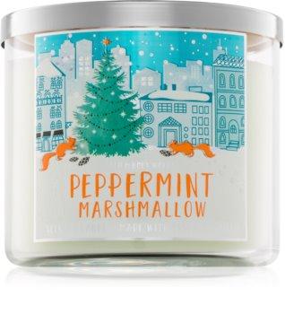 Bath & Body Works Peppermint Marshmallow vonná sviečka