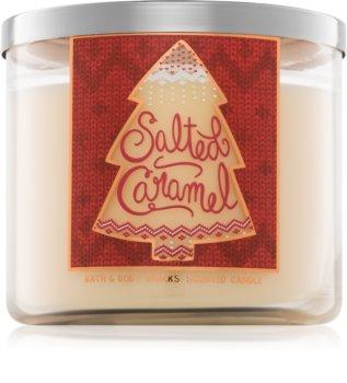 Bath & Body Works Salted Caramel illatos gyertya
