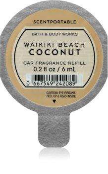 Bath & Body Works Waikiki Beach Coconut aроматизатор за автомобил резервен пълнител