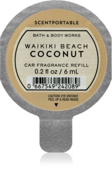 Bath & Body Works Waikiki Beach Coconut parfum pentru masina Refil