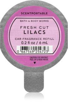 Bath & Body Works Fresh Cut Lilacs vůně do auta náhradní náplň