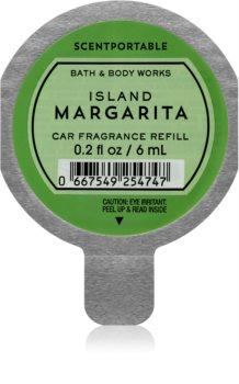Bath & Body Works Island Margarita vůně do auta náhradní náplň