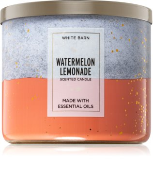Bath & Body Works Watermelon Lemonade vonná svíčka IV.