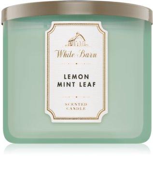 Bath & Body Works Lemon Mint Leaf vonná svíčka