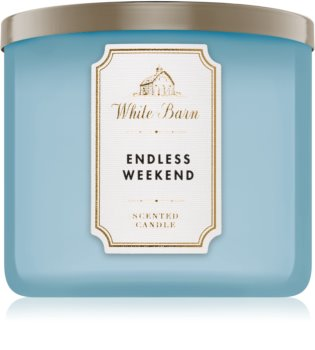 Bath & Body Works Endless Weekend illatos gyertya