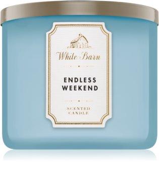 Bath & Body Works Endless Weekend vonná svíčka