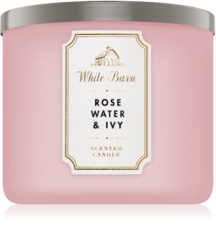 Bath & Body Works Rose Water & Ivy scented candle I.