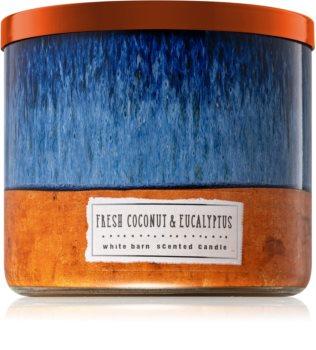 Bath & Body Works Fresh Coconut & Eucalyptus vonná svíčka