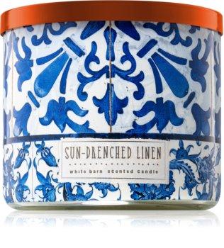 Bath & Body Works Sun-Drenched Linen vonná sviečka