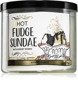 Bath & Body Works Hot Fudge Sundae vonná sviečka