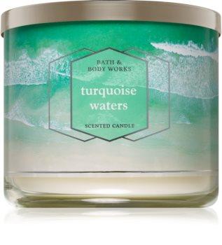 Bath & Body Works Turquoise Waters illatos gyertya  I.