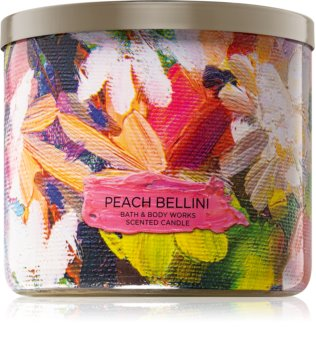 Bath & Body Works Peach Bellini lumânare parfumată  I.