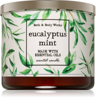 Bath & Body Works Eucalyptus Mint duftkerze  I.
