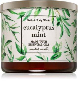 Bath & Body Works Eucalyptus Mint illatos gyertya  I.
