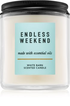 Bath & Body Works Endless Weekend scented candle I.