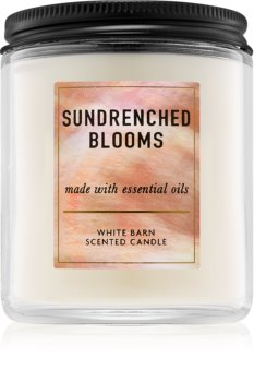 Bath & Body Works Sundrenched Blooms illatos gyertya