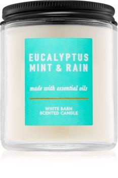 Bath & Body Works Eucalyptus Mint & Rain vonná svíčka